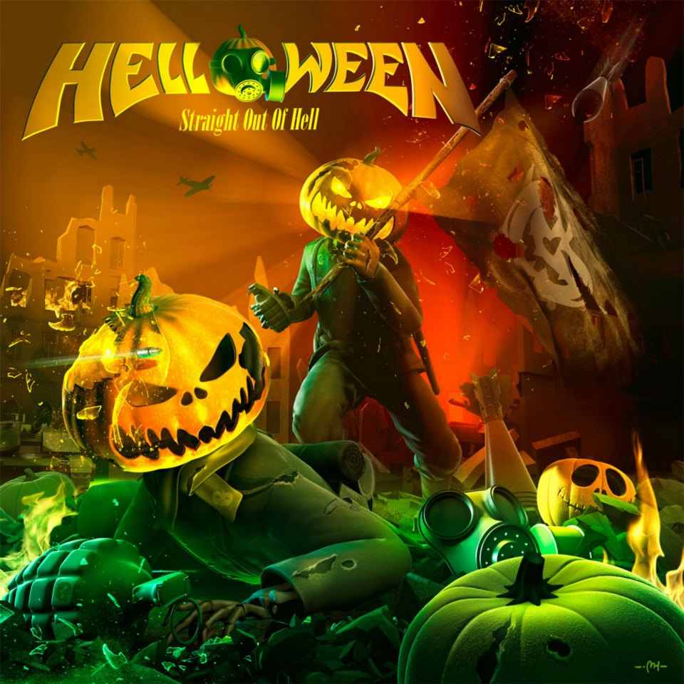 Helloween - Straight Out of Hell - obal