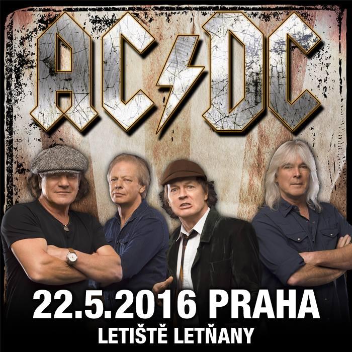 Koncert: AC/DC – Praha 2016