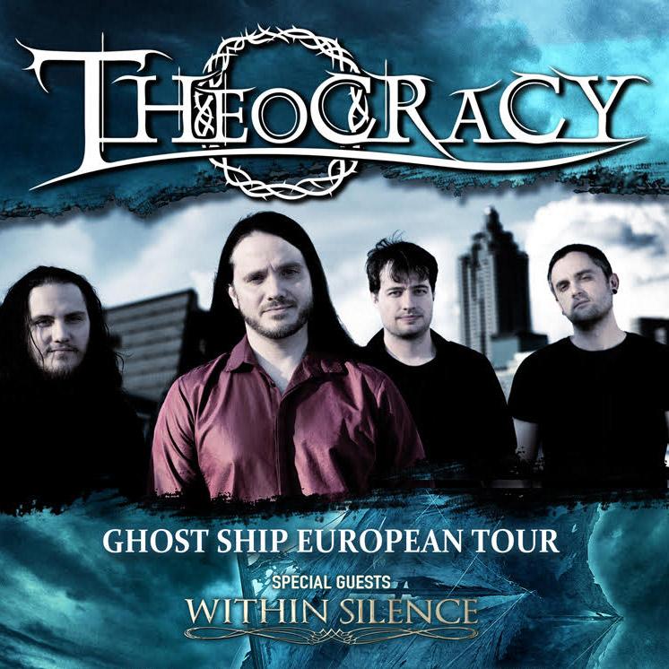 Koncert: Theocracy – Praha 2016