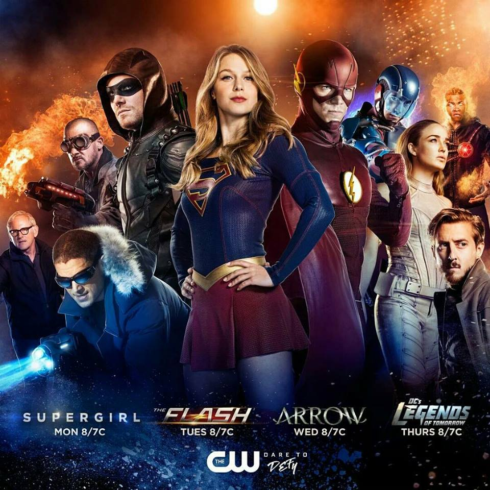 Arrow 5, Flash 3, Legends of Tomorrow 2