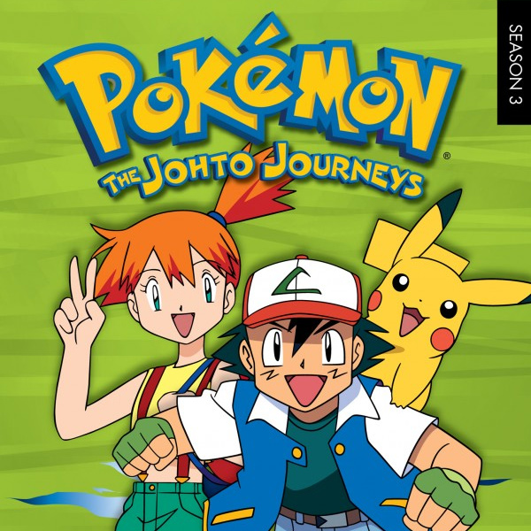 Pokémon – seasons 3, 4, 5