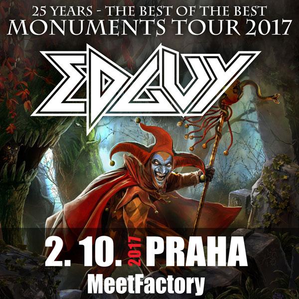 Koncert: Edguy – Praha 2017