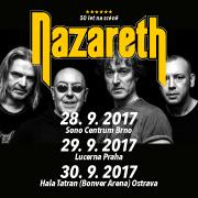 Koncert: Nazareth – Praha 2017