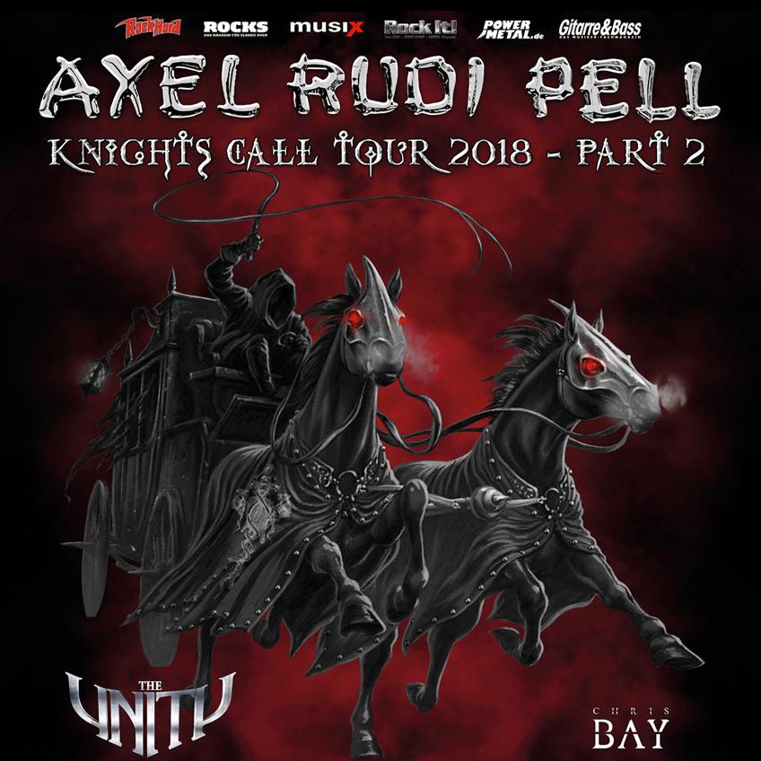 Koncert: Axel Rudi Pell – Praha 2018