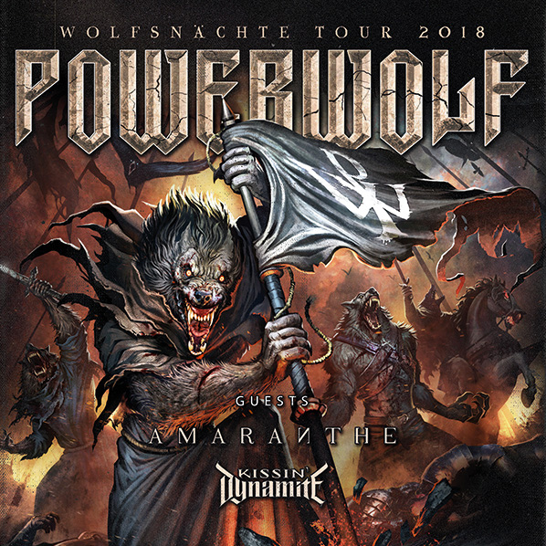 Koncert: Amaranthe, Powerwolf – Praha 2018