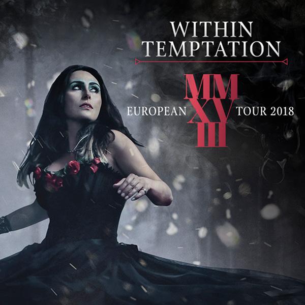 Koncert: Within Temptation – Praha 2018