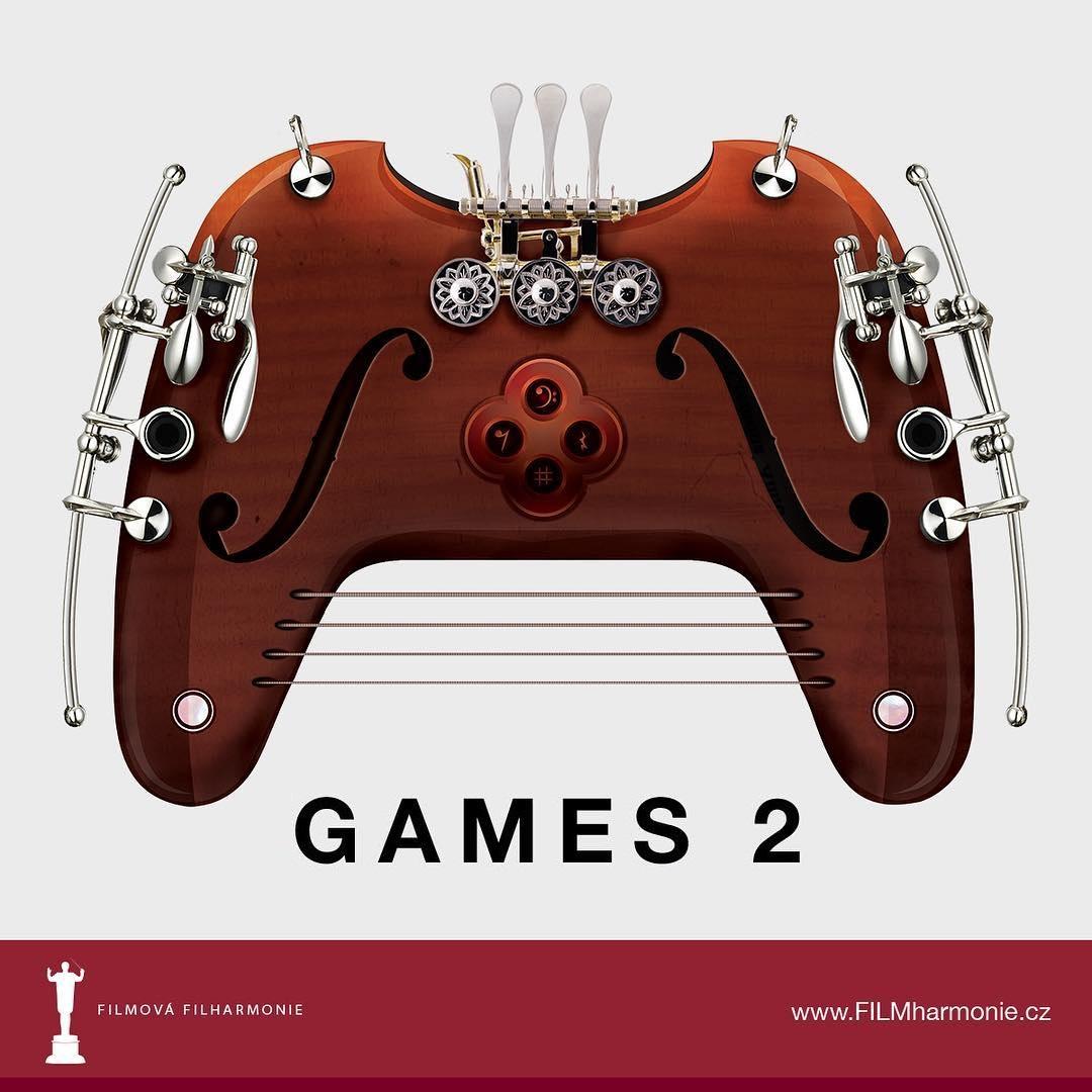 Koncert: Filmová filharmonie – GAMES 2 (Rudolfinum 2019)