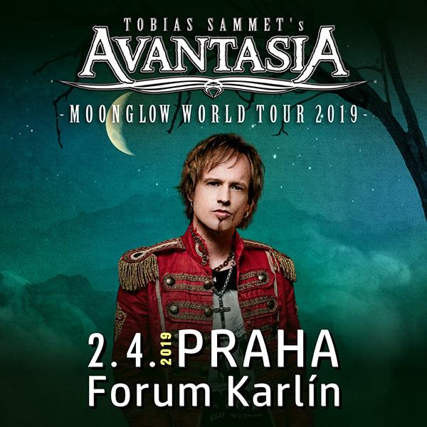 Koncert: Avantasia – Praha 2019 (Moonglow Tour)