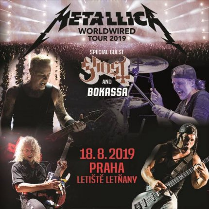 Koncert: Metallica – Praha 2019 (Worldwired Tour)