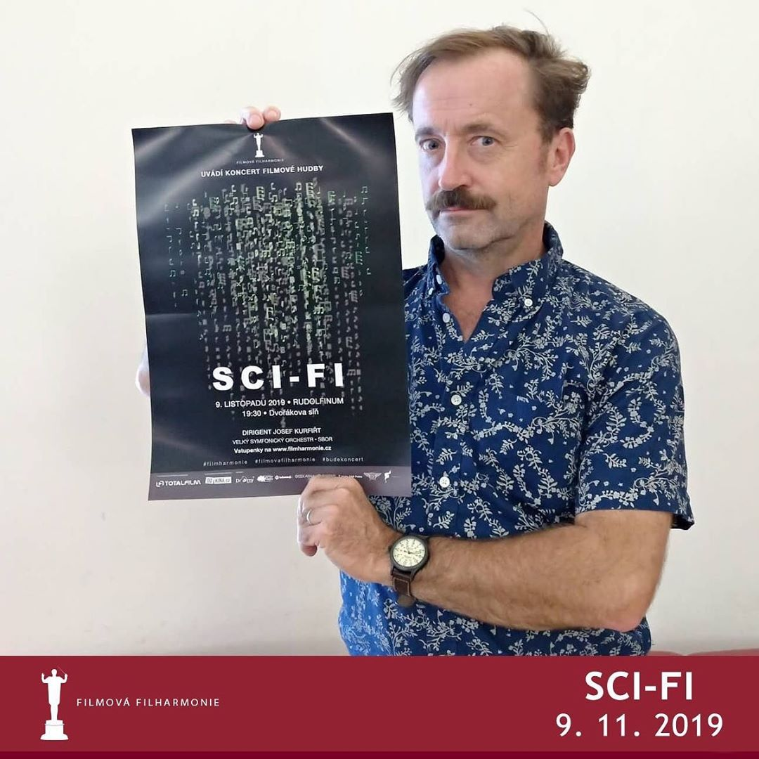 Koncert: Filmová filharmonie – SCI-FI (Rudolfinum 2019)